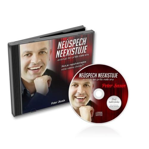 Neúspech neexistuje - Peter Sasín CD
